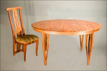 Dining Table with Meredon Chair
